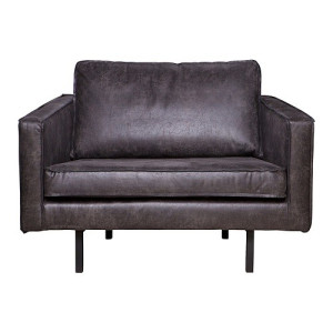 BePureHome Rodeo Loveseat Fauteuil - Zwart