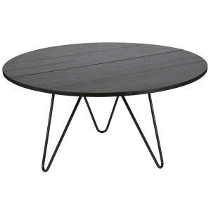 vtwonen Circle XL tafel 150 blacknight