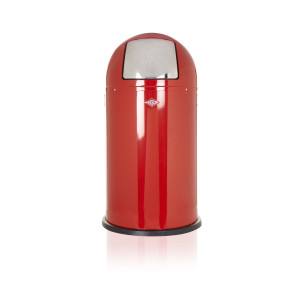 Wesco Afvalemmer Pushboy 50 liter, rood