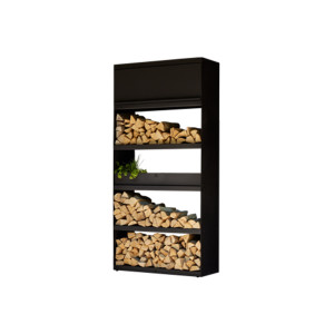 OFYR | Wood Storage 100 | Black