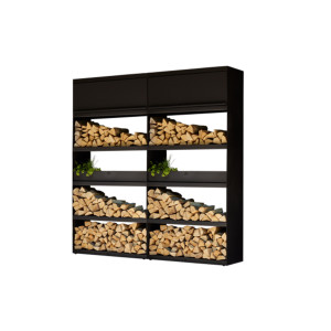OFYR | Wood Storage 200 | Black