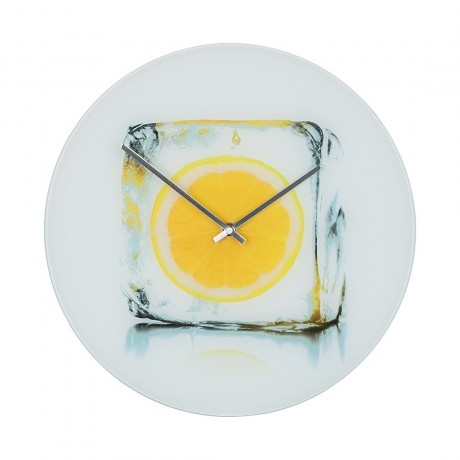 Wandklok Icy Lemon