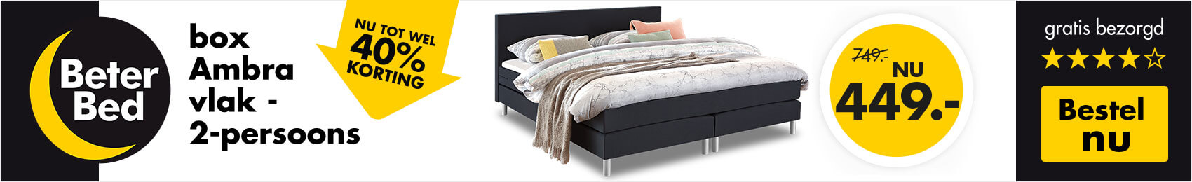 Boxsprings promotie Beter Bed