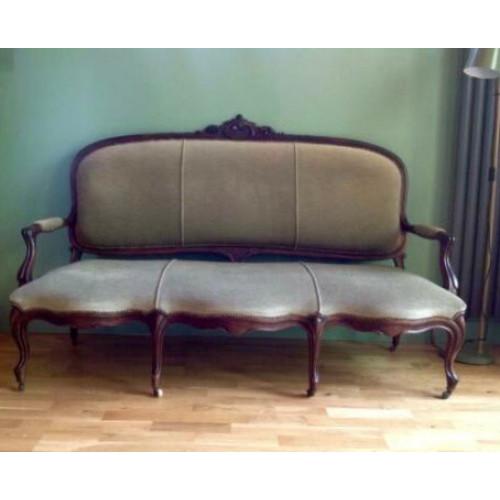 Sofa Victoriaanse stijl afbeelding