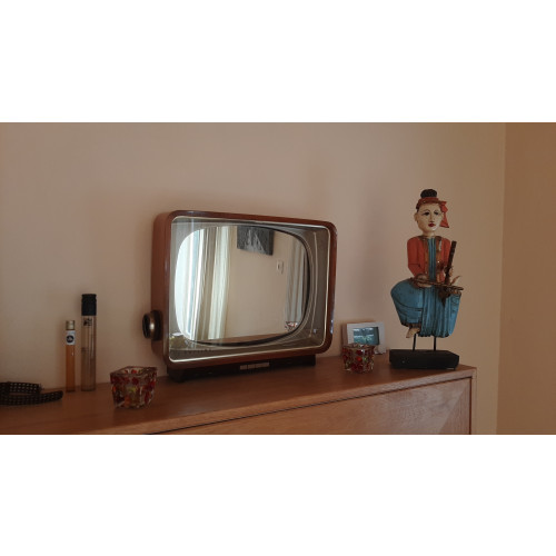 spiegel Philips TV Vintage afbeelding