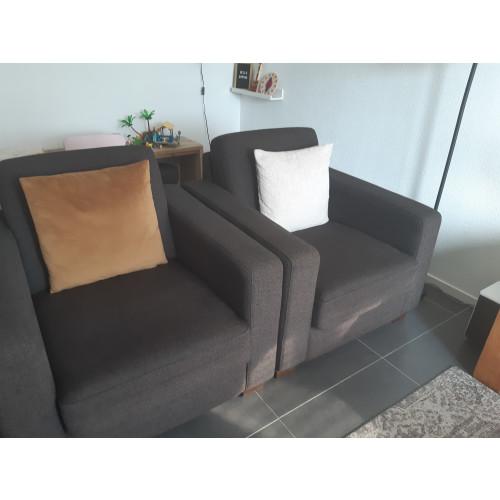 2 fauteuils  afbeelding