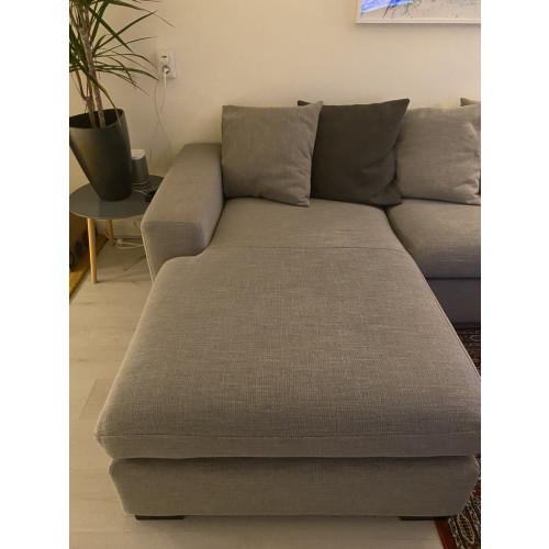 Stoffen bank met lounge afbeelding 2