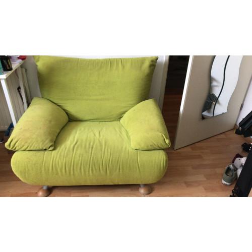 Groene relax stoel  afbeelding