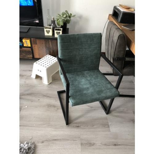 2 stoelen Nine groen afbeelding