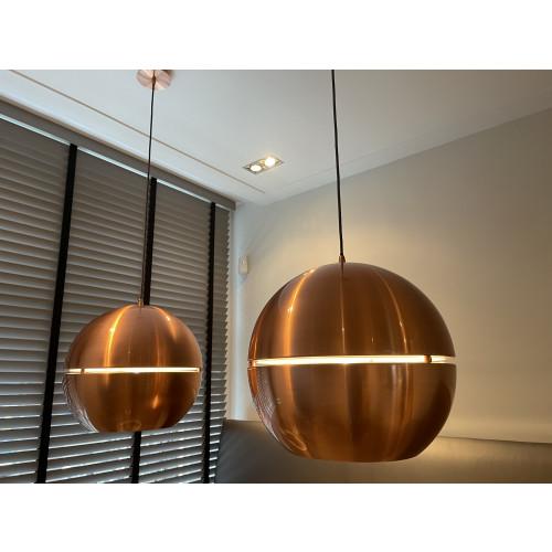 Bronzen eetkamerlampen afbeelding