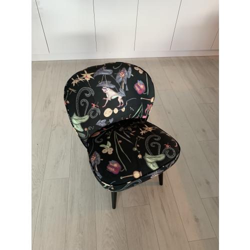 Cocktail stoel / fauteuil van Sissy-Boy met leuke print afbeelding 3