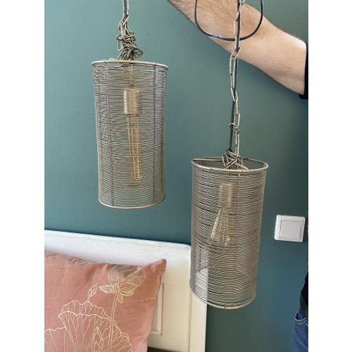 Twee hanglampen afbeelding