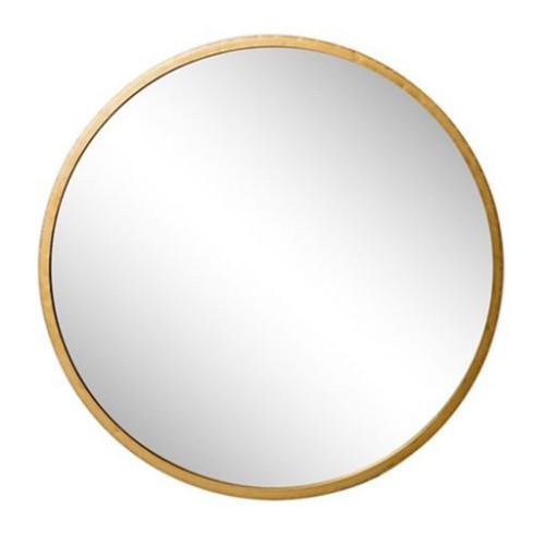 Ronde Gouden Spiegel Van Messing (Riverdale) afbeelding
