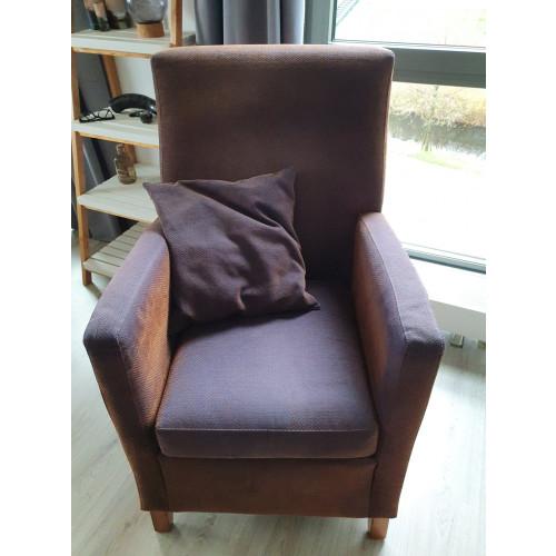fauteuil Roest/Blauw afbeelding