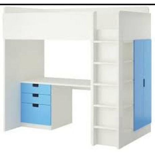 IKEA STUVA Loft Bed (Blue) afbeelding