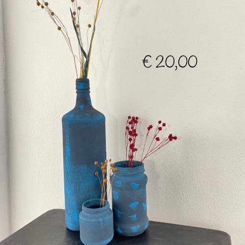 Hip & Antiek: Vazen met droogbloemen afbeelding