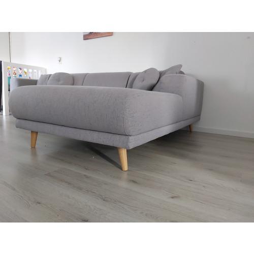 Grijze lounge/ U bank afbeelding 3