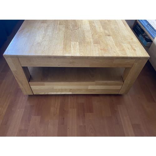 Leuke houten salontafel afbeelding