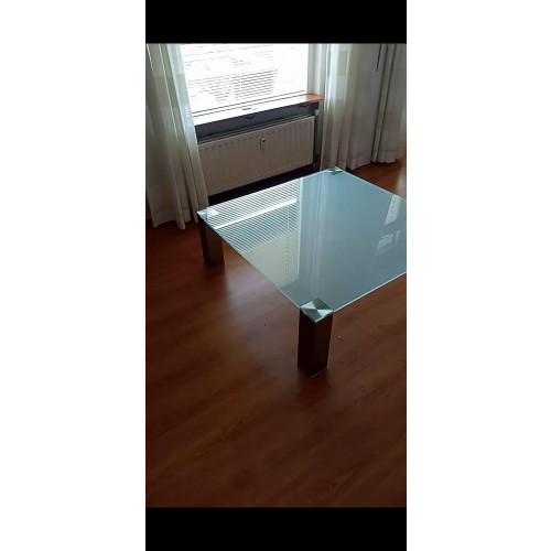 Glazen salontafel afbeelding