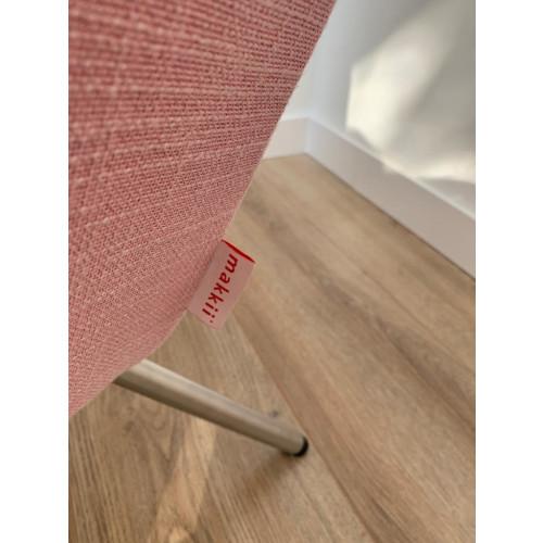 2x roze makkii fauteuil afbeelding 3