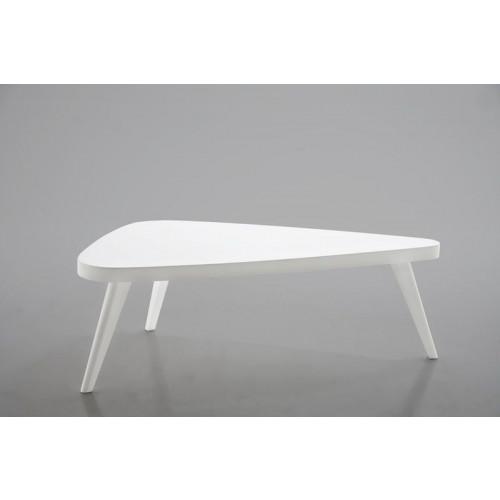 Mooie witte salontafel afbeelding