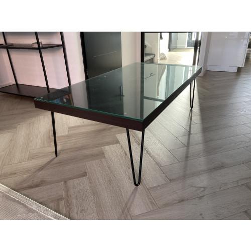 Eettafel en salontafel afbeelding