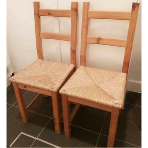 Rotan rieten stoelen afbeelding