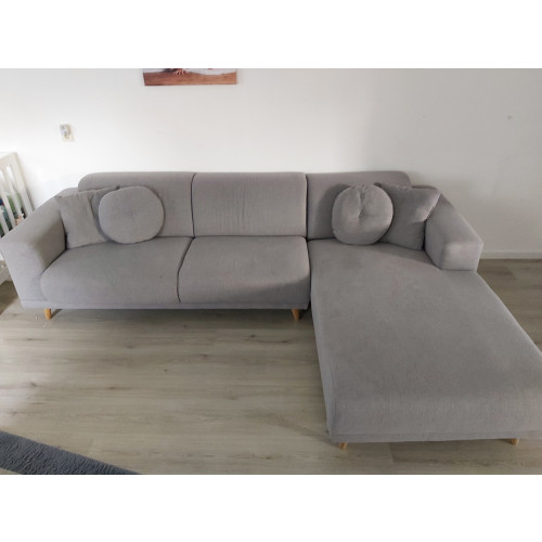 Grijze lounge/ U bank afbeelding