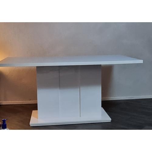 Nieuw!! Hoogglans wit eettafel afbeelding