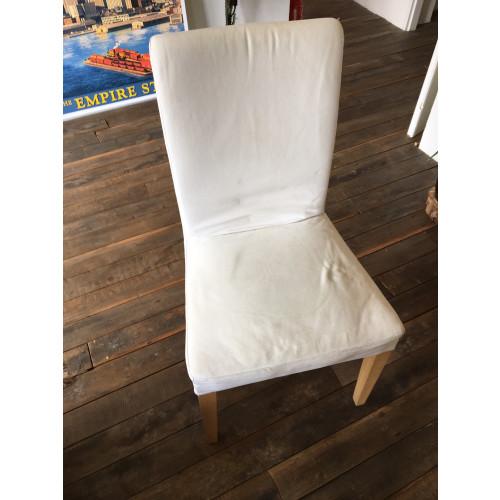 Witte HENRIKSDAL eetkamerstoel van IKEA afbeelding 2