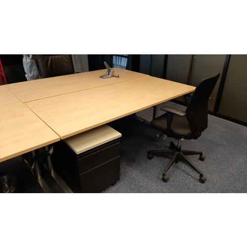 Bureautafel 180x80 van 64cm tm 88 cm op hoogte verstelbaar afbeelding