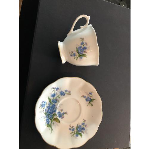 Kop en schotel van Royal Albert bone china england afbeelding