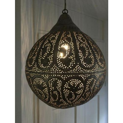 Zenza hanglamp S (doorsnede 30cm) zilver messing afbeelding