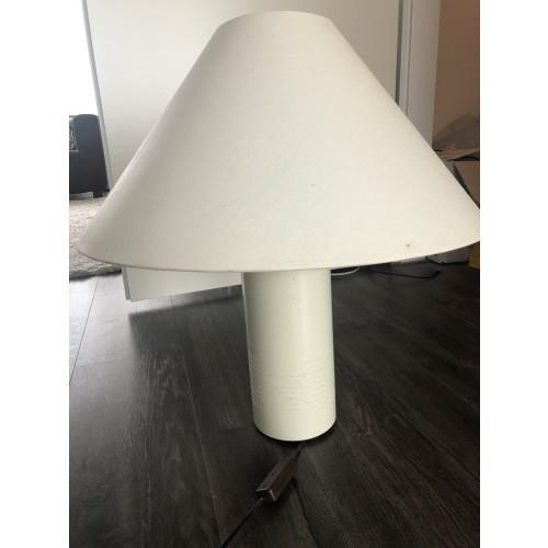 Lampenkap met metalen voet ecru  afbeelding