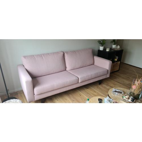 Roze 2,5 zitsbank afbeelding