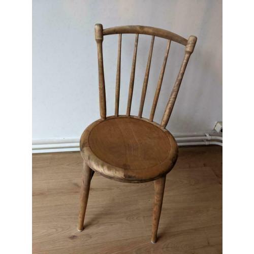Retro vintage stoeltjes met relief afbeelding