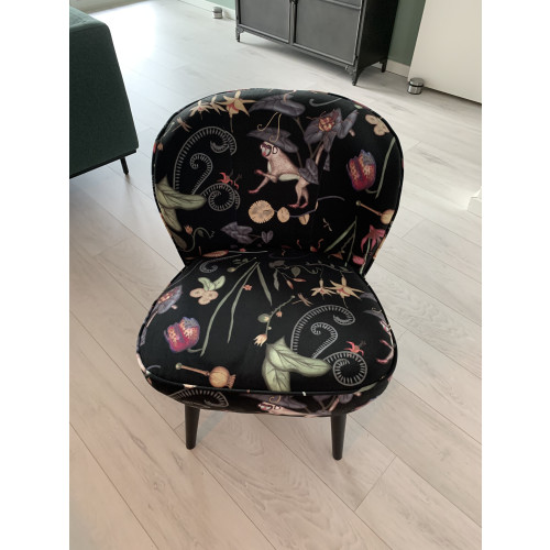Cocktail stoel / fauteuil van Sissy-Boy met leuke print afbeelding
