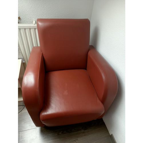 bruine fauteuil afbeelding