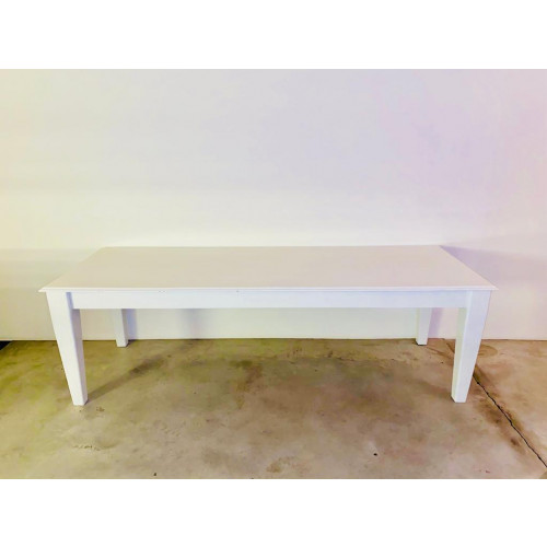 Antieke grote tafel wit afbeelding