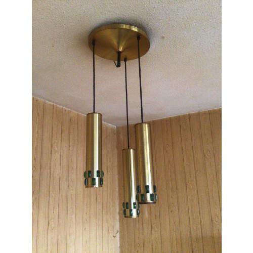 Vintage Lakro Amstelveen jaren60/70 hanglamp afbeelding