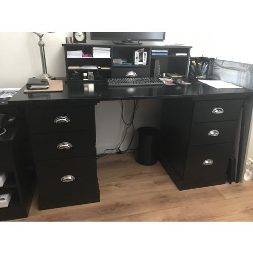 Zwart (computer)bureau  afbeelding 2