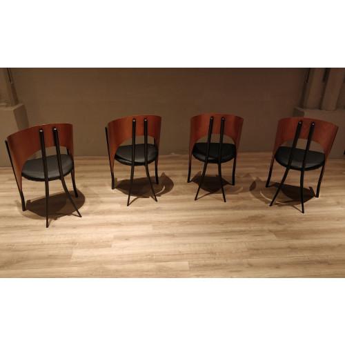 Vintage (jaren 80) design stoelen afbeelding 3